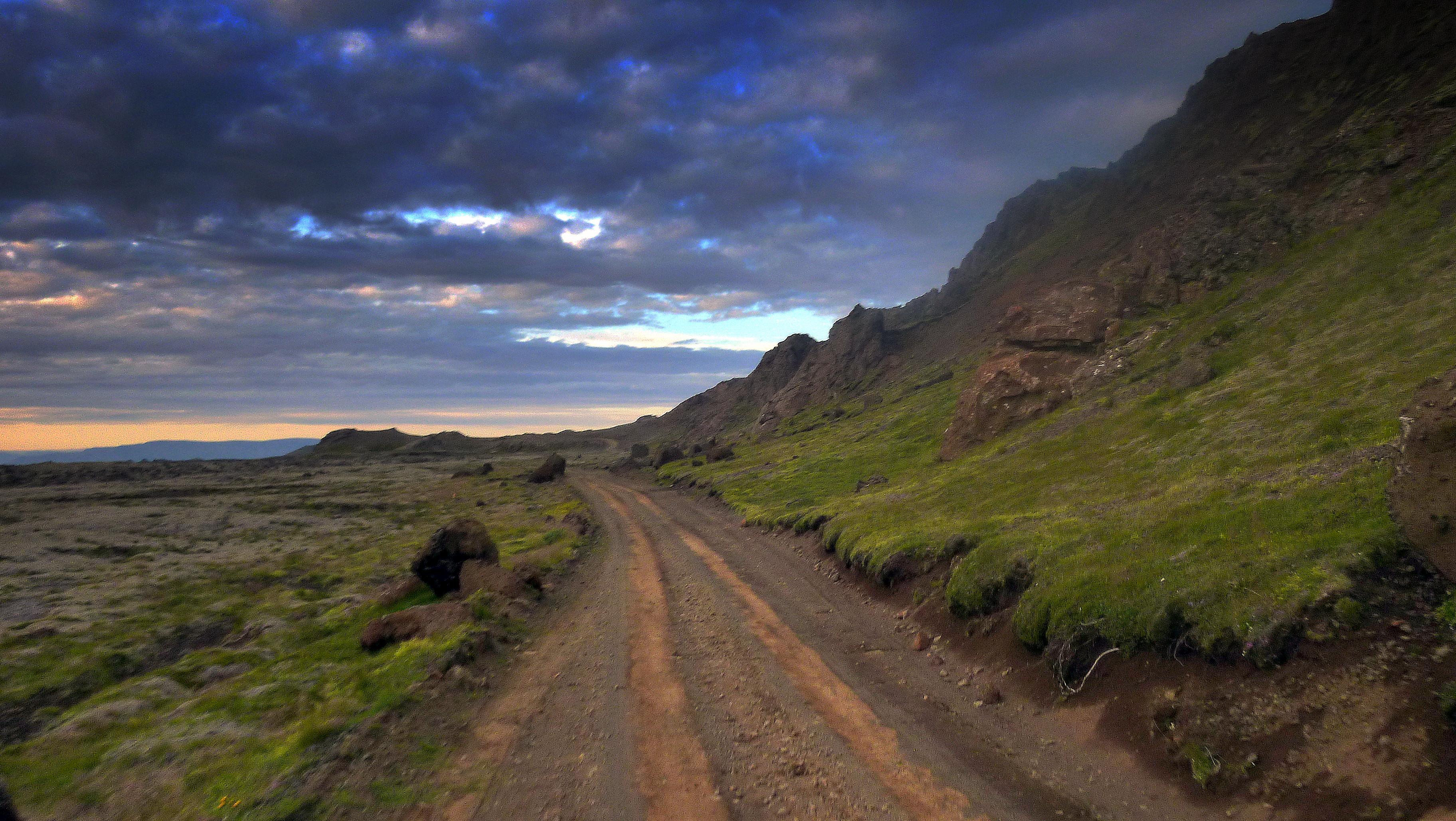 Lunar landscape in Iceland – great scenery